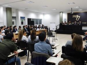 Simulacro de Juicio Oral Penal por Jurado en la Universidad de la Cuenca del Plata Sede Posadas