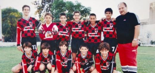 Messi se juntó en rosario con sus ex compañeros de la categoría 87 de Newell's