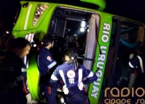 Volcó micro en Brasil con 67 egresados de Misiones y murieron tres jóvenes