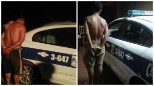 Dos detenidos en operativo en la Zona Oeste de Posadas