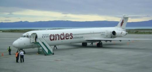 La aerolínea Andes quiere ofrecer tarifas más bajas que los micros