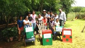 Caritas Iguazú, junto al voluntariado de Arauco, acercó a 500 familias cajas navideñas y regalos para niños en la zona norte
