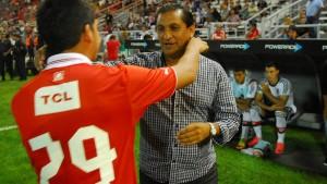 El misionero Martín Benitez podría migrar al equipo de Ramón Díaz en el fútbol árabe