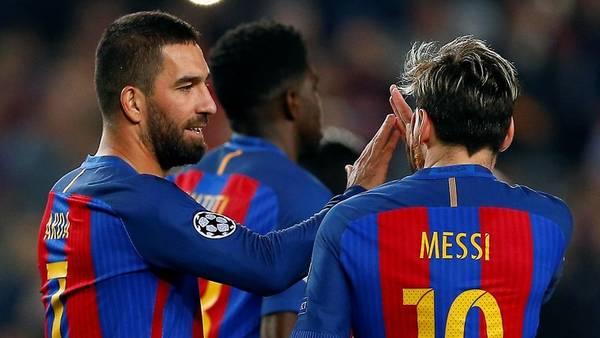 Barcelona goleó pero Lionel Messi no pudo alcanzar otro récord en la Champions