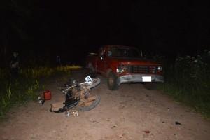 Un niño de tres años que viajaba en una moto perdió la vida en un siniestro vial