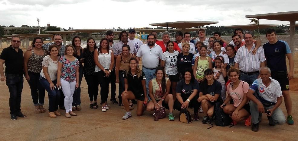 Inauguraron oficialmente la temporada de verano del balneario El Brete