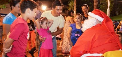 Oberá celebró la navidad con show de bandas, coros y coreografías