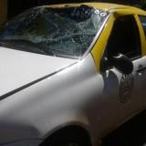 """Choque y vuelco: """"Tras el impacto lo único que quería era que el taxi dejara de dar vueltas"""", contó una de las pasajeras"""