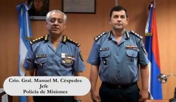 La Policía de Misiones les desea Feliz Navidad y un prospero Año Nuevo