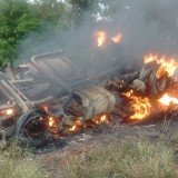 Irigoyen: policías investigan el despiste de un automóvil robado en Brasil