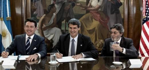 Los gobiernos de Argentina y EEUU firmaron un acuerdo de intercambio de información tributaria