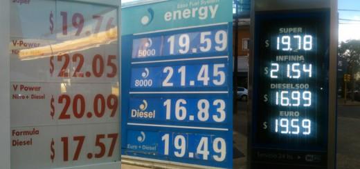 Las naftas deberían bajar entre 2,20 y 3 pesos en Posadas pero volverían a aumentar en enero