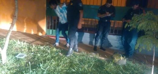 """Sorprendieron a """"Carancho"""" intentando robar en una casa y fue detenido"""