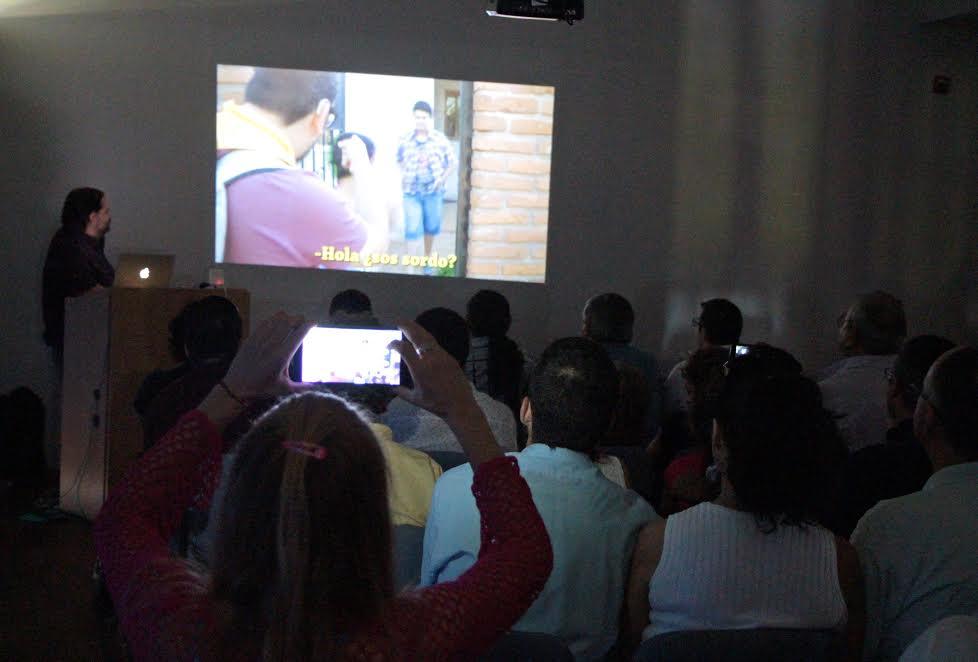 Cine sordo: una experiencia exitosa para la comunidad sorda de Misiones
