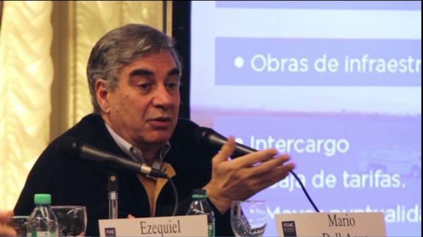 El Gobierno confirmó a Mario Dell'Acqua como sucesor de Isela Costantini, quien se va por «motivos personales»