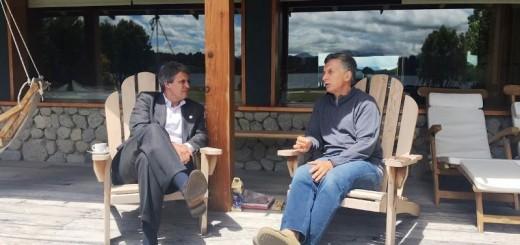 Mauricio Macri dialogó con Alfonso Prat-Gay en el sur luego de su salida del Gobierno