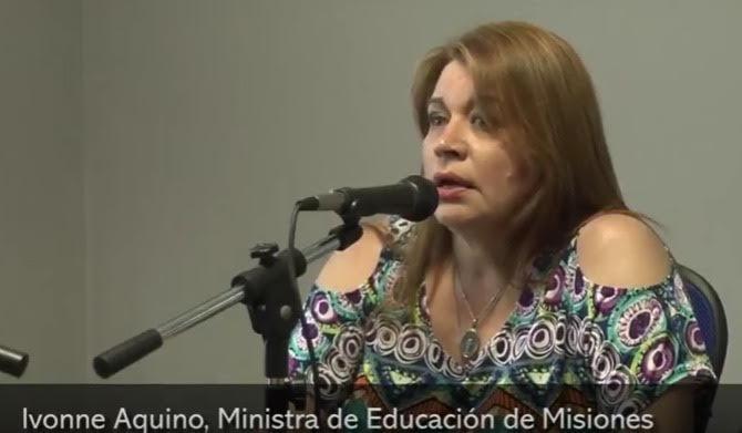 """Ivonne Aquino: """"Como proyecto educativo inclusivo todavía hay mucho por trabajar"""""""
