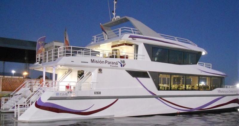 ¿Querés ir al catamarán? Mañana Misiones OnLine sorteará un paseo para dos personas