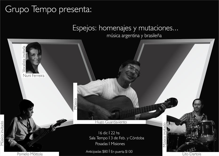 Hugo Guardaviento lleva su música a la Sala Tempo