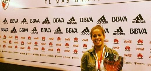 Luchi Von der Heyde fue elegida la mejor deportista del año en River