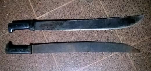 Un duelo con machetes dejó tres heridos en Campo Grande