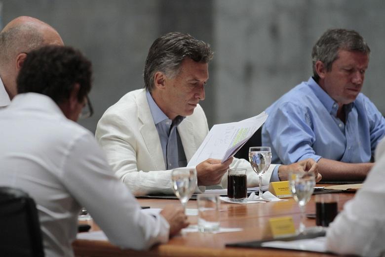 Macri convocó a una reunión del gabinete nacional ampliado