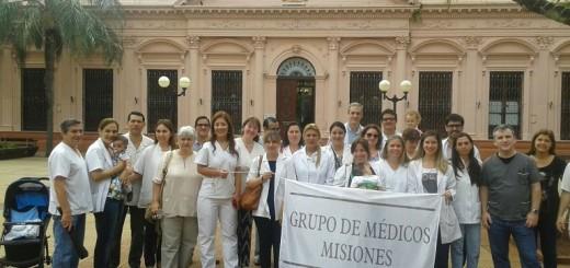 Médicos en su día marcharon y elaboraron un manifiesto