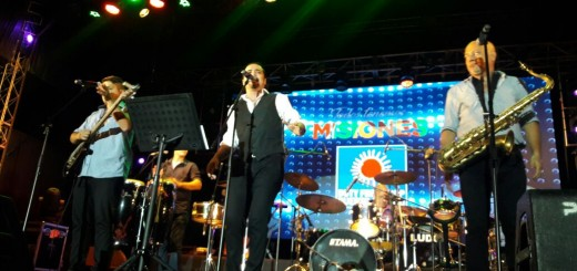 Así comenzaba el show de la Montecarlo Soul en La Costanera