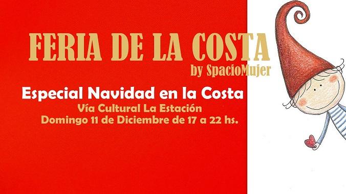 Invitan a la Feria de la Costa, especial Navidad