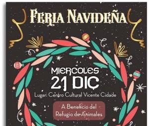 Este miércoles Feria Navideña de Locas Como Tu Madre en el Vicente Cidade