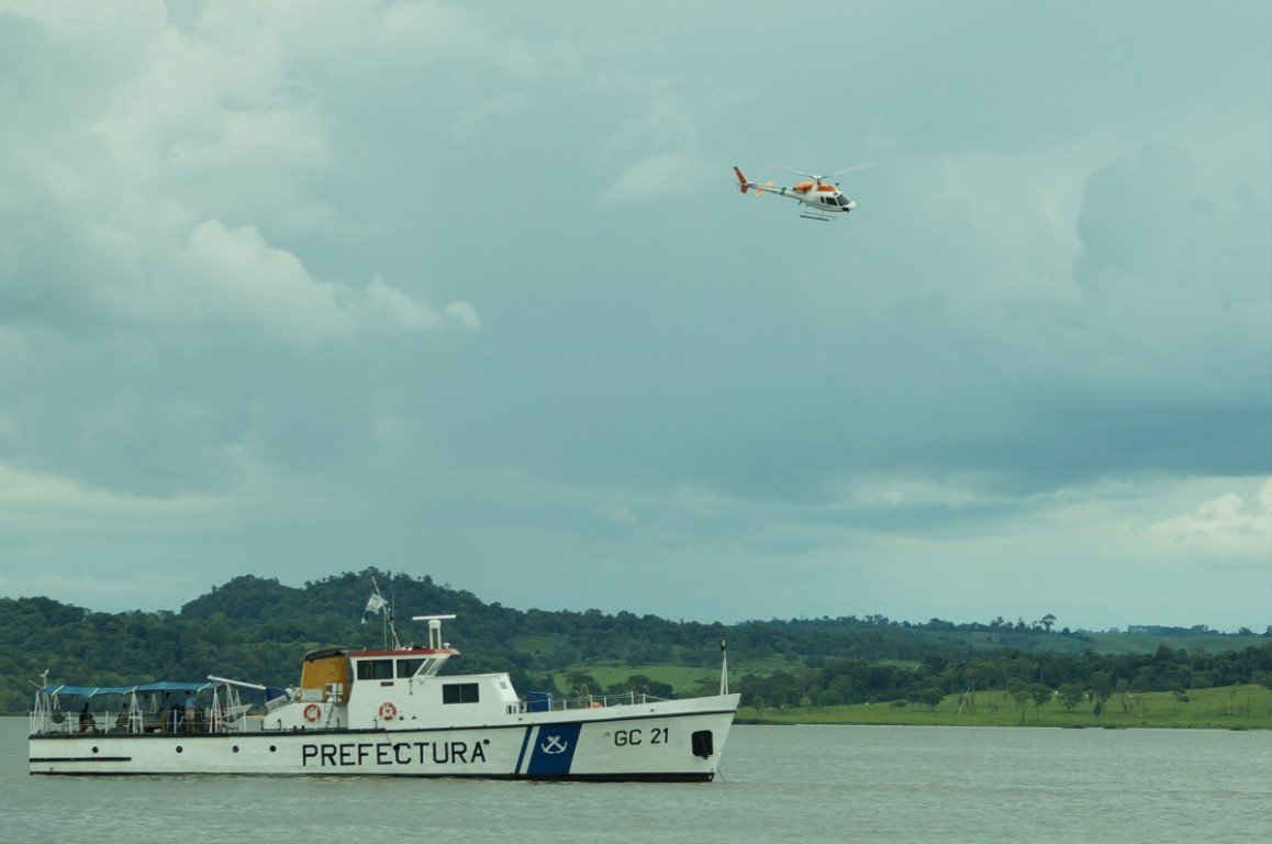 La Justicia Federal condenó a dos traficantes paraguayos atrapados en un bote cargado con marihuana