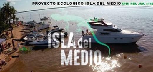 Posadeños trabajan para recuperar la Isla del Medio como atractivo para el verano