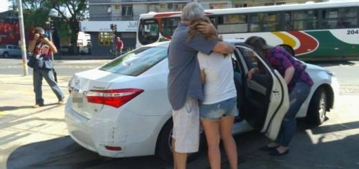 Argentinos olvidaron a su hija en una estación de servicio de Brasil