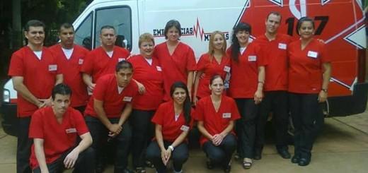 La línea 107 de Eldorado celebro dos años al servicio de las emergencias