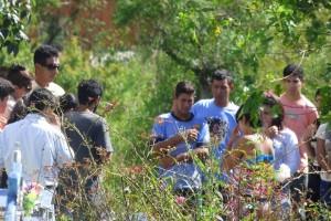 Violación y muerte en Garupá: emotivo adiós a Irma Ferreira Da Rocha