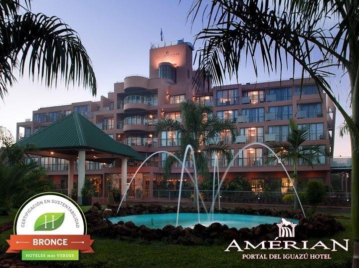 Amerian Portal del Iguazú recibió la ecoetiqueta de Gestión Sustentable de Hoteles más Verdes