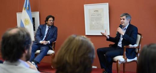 """Marcos Peña abogó en favor de modernizar y agilizar los procesos para que la Justicia transmita """"confianza"""" a la sociedad"""