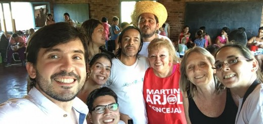 Arjol dialogó con vecinos de Cruz del Sur sobre problemáticas del barrio