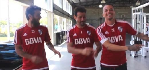 Gallardo y jugadores de River participaron en un video donde hubo cargadas a Boca