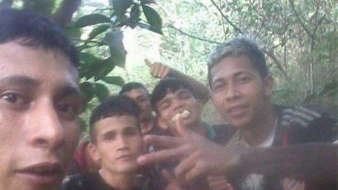 Los prófugos de la cárcel de Manaos en Brasil celebran su escape con selfies