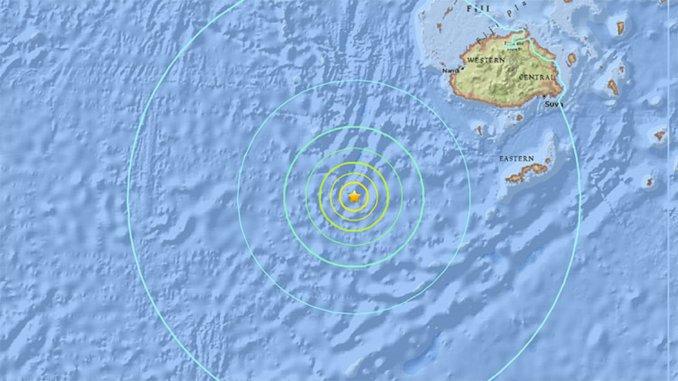 Alerta de tsunami tras un sismo de 7,2 en el océano Pacifico