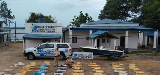 Interceptaron una carga de 465 kilos de marihuana en Itá Ibaté