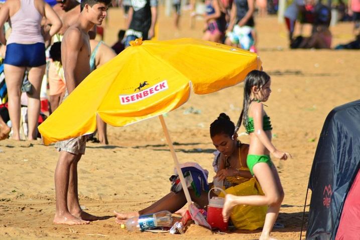 El Brete, una buena opción para combatir los 41 grados de sensación térmica en Posadas
