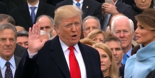 Las 10 frases de Donald Trump en el día de su asunción