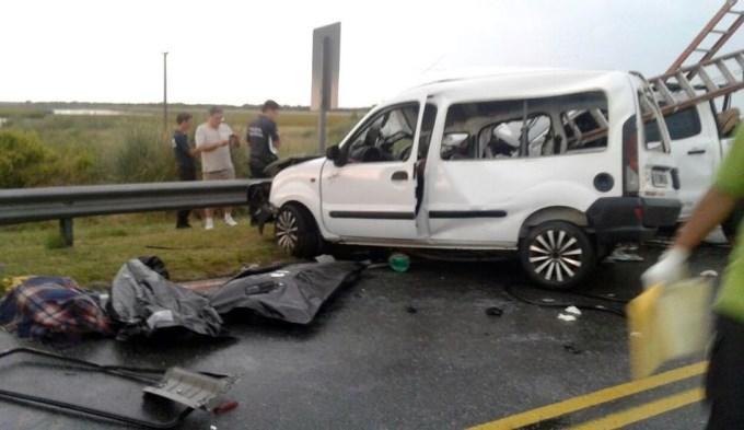 Tragedia en ruta 11: Cinco muertos en brutal accidente