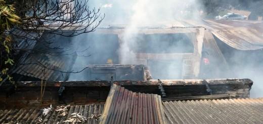 Se incendió una casa en la chacra 97 de Posadas