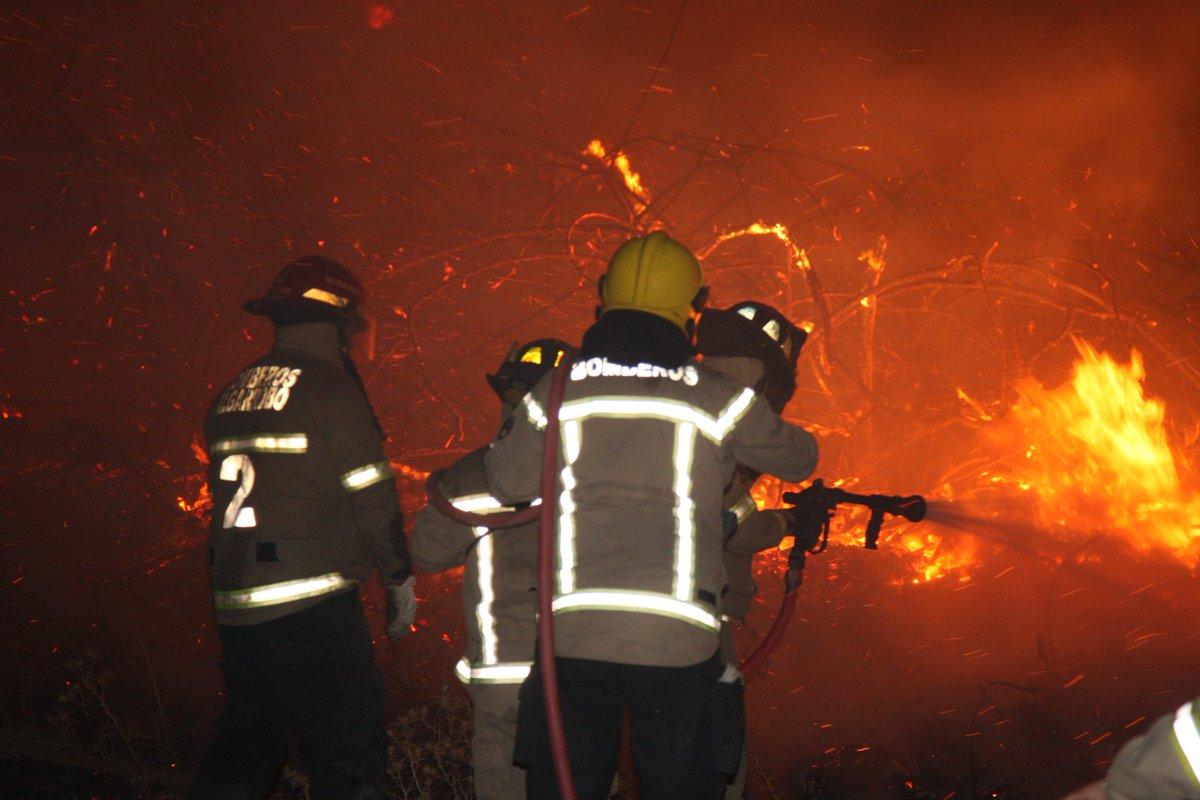 Chile: Muere un bombero y dos carabineros por incendios en la región de Maule