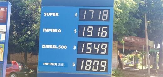 Bajó el precio de la nafta en Posadas desde hoy: $17,18 el litro de la súper en las YPF