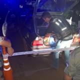 Narcos cubren su retirada a los tiros tras ser descubiertos por una patrulla de la Prefectura en Iguazú