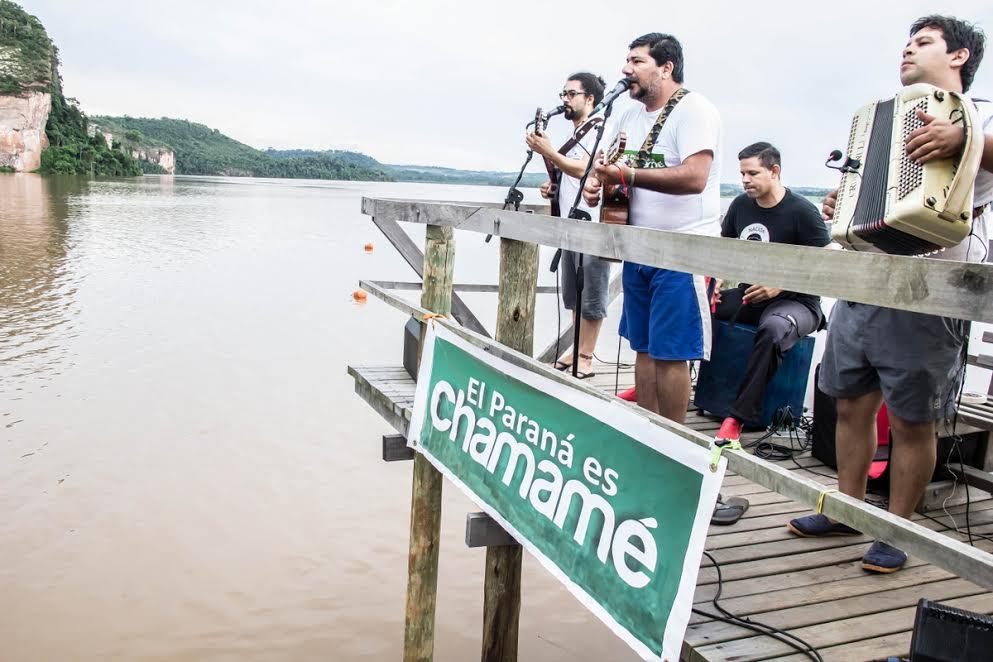 La travesía Paraná es Chamamé comienza hoy en San Ignacio